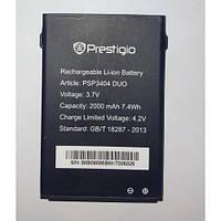 Оригинальный аккумулятор Prestigio PAP 3404