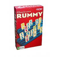 """Настольная игра """"Румми"""" (RUMMY) компактная версия TM Tactic 02743"""