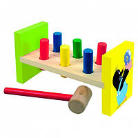Деревянная игрушка Стучалка «Кротик» Bino