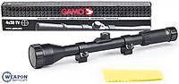 Прицел оптический Gamo 4х28 TV Original , крепление Ласточкин хвост 11мм в комплекте, прицелы для оружия, фото 1