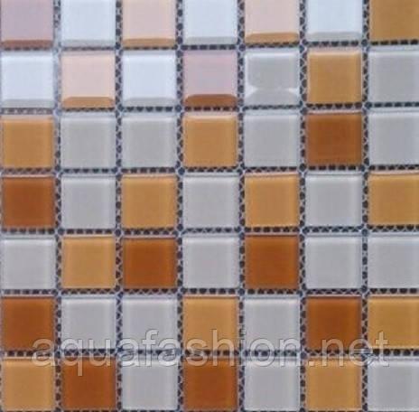Мозаика для кухни Vivacer CMmix01R бежевая с белым