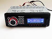 Автомагнитола Pioneer 1128 Usb+Sd+Fm+Aux+ пульт (4x50W), фото 1