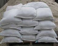 Пісок річковий в мішках 50кг