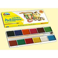 """Краски акварельные """"Гамма"""" """"Любимые игрушки"""" 12цв,  311036"""