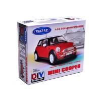 Welly. Сборная модель машина металл. 1:24 Mini Cooper, 22075KB