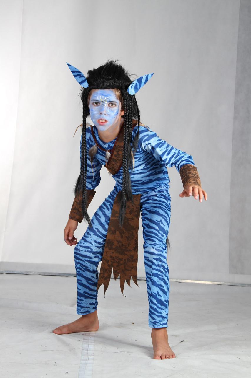 Карнавальный костюм Аватар (мальчик), без парика, 87583