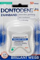 Зубная нить DONTODENT Zahnband Brillant Weiss, 50 m
