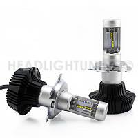 Светодиодная автомобильная лампа головного света Cyclon LED H4 Hi/Low 5000K 4000Lm PH type 2