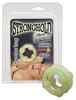 Эрекционное кольцо Stronghold Ring glow позволит насладиться долгим половым актом