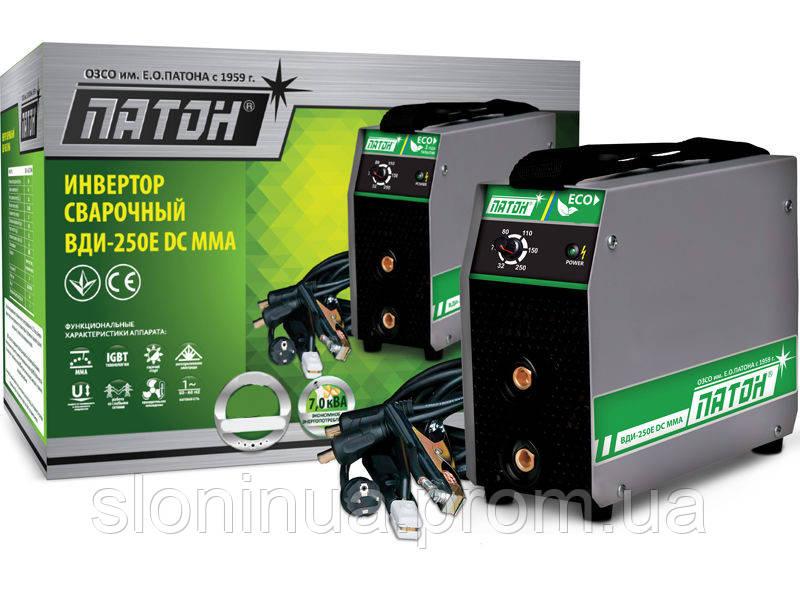 Выпрямитель сварочный инверторный ПАТОН ВДИ-250E DC MMA ECO