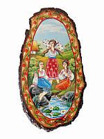 Срез-панно Казаки (Картины, панно)