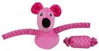 TRIXIE TX-45569 Игрушка для кота мышь+конфета (плюш / ткань)10см / 5см