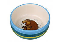 TRIXIE  Керамическая миска для морской свинки TRIXIE Размер: 250мл/11см
