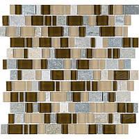 Мозаика камень стекло Vivacer DAF106
