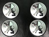 Peugeot 307 2001+ Колпачки в титановые диски 60/57мм Original-style (4 шт)