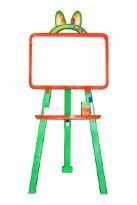 Мольберт для рисования магнитный (для мела и маркера), оранжевый, 013777/3 - Товары для всей семьи ОПТОМ в Днепропетровской области