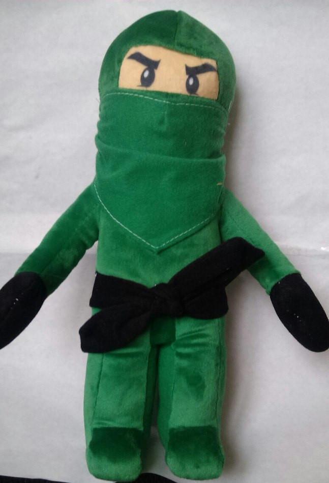 "Мягкая игрушка Ниндзяго, ""Ллойд Гармадог"" (зеленый), 00244-2/3"