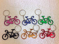 Брелок-открывашка  для ключей велосипед