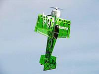 Самолёт р/у Precision Aerobatics Addiction 1000мм ARF (зеленый)