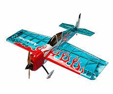 Самолёт р/у Precision Aerobatics Addiction X 1270мм ARF (синий)