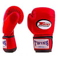 Перчатки боксерские Twins Flex 12 oz красные (AIBA mod) TW2101-12R