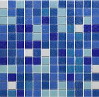 Микс из мозаики синего цвета Vivacer GLmix7