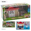 """Домик """"Happy Family"""" с флоксовыми животными, 012-04"""