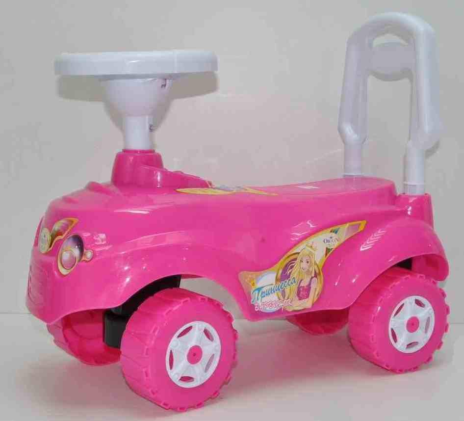 Машинка для катания МИКРОКАР розовая, ТМ Орион, 157РОЗ