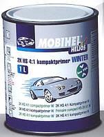 Грунт акриловый Mobihel 2К HS 4:1 (компактпраймер) WINTER LOW VOC 1л серый + отвердитель 750 0,25л