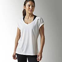 Спортивная футболка женская Reebok Quik Cotton B45146 - 2017