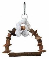TRIXIE TX-5891 Качели деревянные для птиц TRIXIE - Natural Living Размер: 22х29см