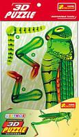 """3D Игрушки пазлы """"Кузнечик"""", ТМ RANOK Creative, 3120-01"""