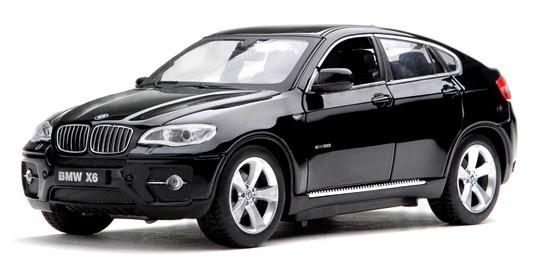 Машинка р/у 1:24 Meizhi лиценз. BMW X6 металлическая (черный) - Товары для всей семьи ОПТОМ в Днепропетровской области