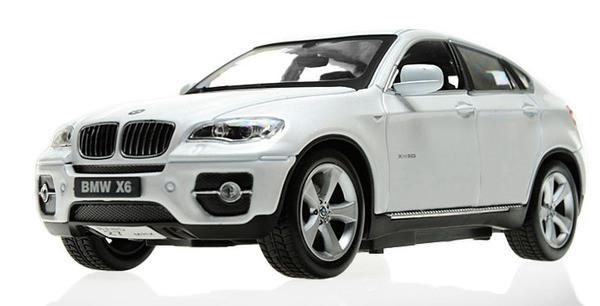 Машинка р/у 1:24 Meizhi лиценз. BMW X6 металлическая (белый) - Товары для всей семьи ОПТОМ в Днепропетровской области