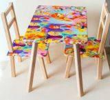 """Столик 60*46см + 2 стула """"Винкс"""", С036"""