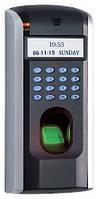 F7 — биометрический терминал контроль доступа по отпечаткам пальца (доступ в помещение)