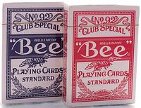 """Карты игральные """"Bee"""", покерные карты, фото 1"""