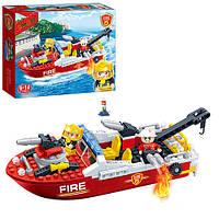 Конструктор BANBAO Пожарный катер, 198дет, 7105