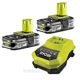 Аккумуляторы и зарядное устройство Ryobi RBC18LL15