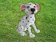 Собачка фигура для сада Ральфик купить недорого декор для дачи Харьков