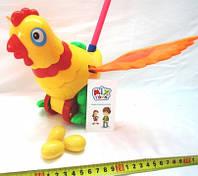 Каталка детская на палочке Курица-несушка, SH 986-2