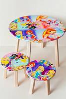 Столик + 2 стульчика ВИНКС, размер 600*460, OTS-C036