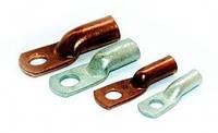 Наконечники кабельные медные 10 мм2, наконечник медный луженный 10 мм2