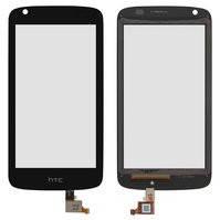 Сенсорный экран для мобильного телефона HTC Desire 326G, черный, (128 × 66 мм)