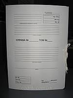 """Папка """"СПРАВА №"""" ( для нотариальных контор) на 4-х завязках, A4., фото 1"""