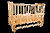 """Кровать детская на шарнирах с подшипником и опускной боковиной """"ЭВИСС-8"""" *эв"""