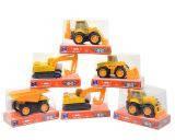 Машина игрушечная инерционная Строительная техника, Welly, NewRay, 01627/01624