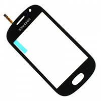 Сенсор (Touch screen) Samsung S6810 черный