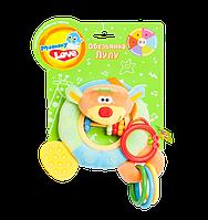 Мягкая игрушка-подвеска обезьянка Лулу, OBM0\M  /DM