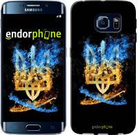 "Чехол на Samsung Galaxy S6 Edge G925F Герб ""1635c-83"""